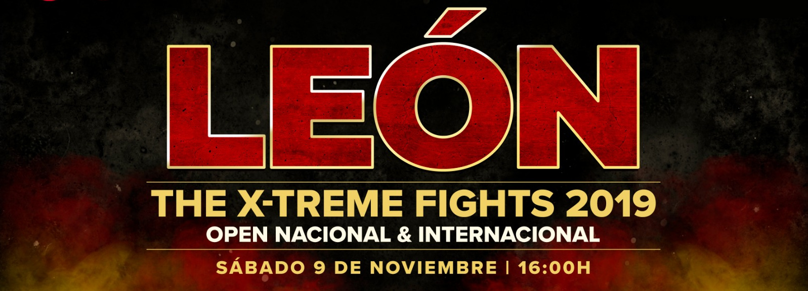 León x-treme fights 2019 - Banner